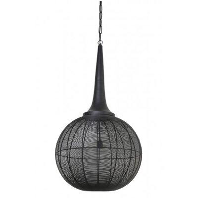 Adrienne 1-Light Globe Pendant Size: 45 H x 23.5 W x 23.5 D