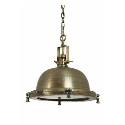 Nordfyn 1-Light Pendant Finish: Bronze