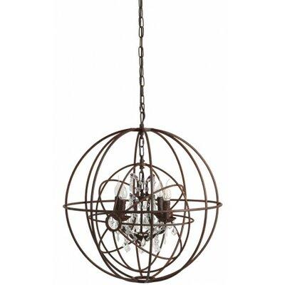 Engelier 4-Light Globe Pendant Size: 29 H x 26 W x 26 D