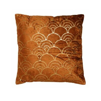 Faros Velvet Throw Pillow