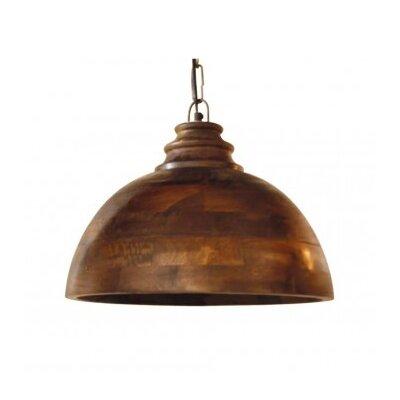 Sula 1-Light Bowl Pendant Size: 15.5 H x 19 W x 19 D