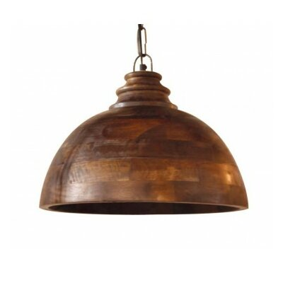 Sula 1-Light Bowl Pendant Size: 12 H x 15.5 W x 15.5 D