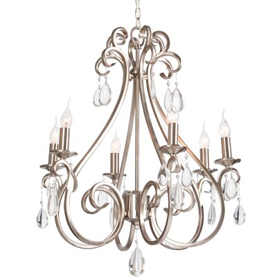 Catharina 6-Light Candle-Style Chandelier