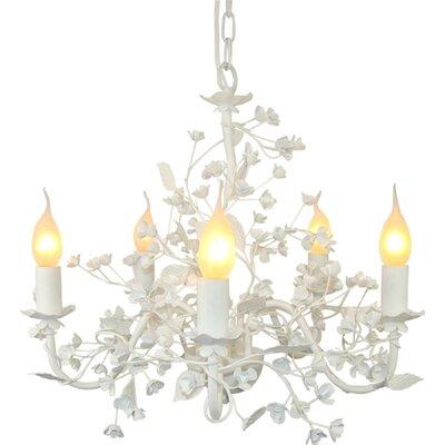Esmeralda 5-Light Candle-Style Chandelier