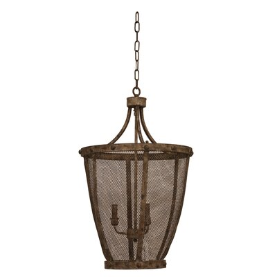 Simona 3-Light Foyer Pendant