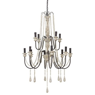 Bradamante 12-Light Candle-Style Chandelier