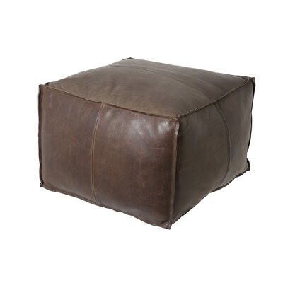Bob Leather Ottoman