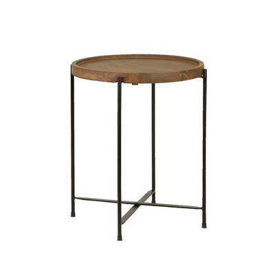 Salitre Wood End Table