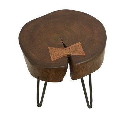 Paita Wood End Table