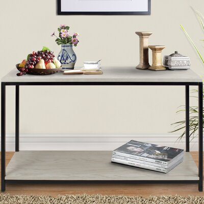 Studio Console Table Finish: White Wash