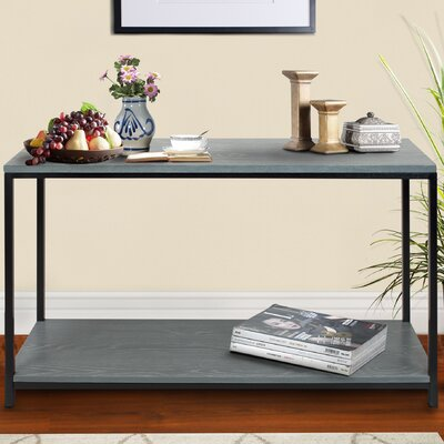 Studio Console Table Finish: Gray Wash