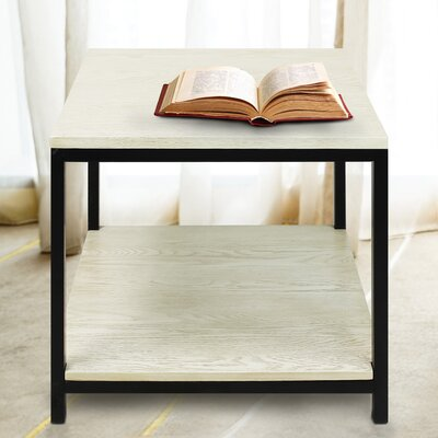 Studio End Table Finish: White Wash