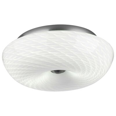 Inhale Flush Mount Size: Small