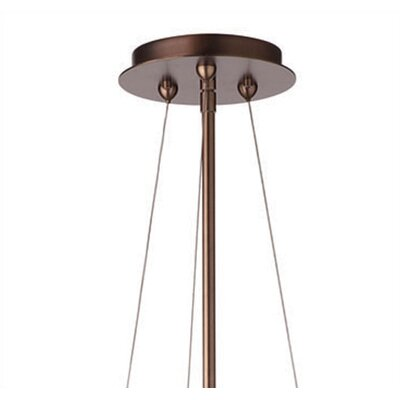 Taylor 3-Light Mini Pendant Finish: Deep Bronze