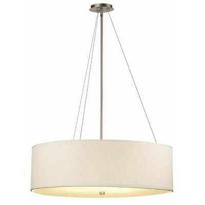 Organic Modern 32 Glass Drum Pendant Shade