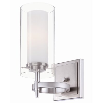 Hula 1-Light Wall Sconce Finish: Satin Nickel