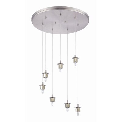 Sparkle 7-Light Cascade Pendant