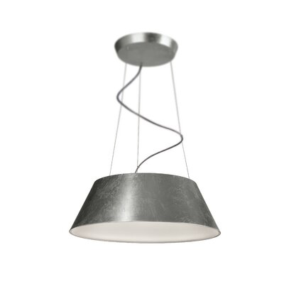 Cielo 4-Light Drum Pendant Finish: Silver