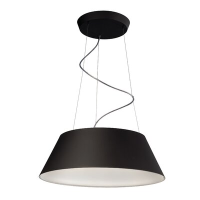 Cielo 4-Light Drum Pendant Finish: Black