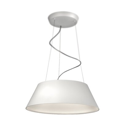Cielo 4-Light Drum Pendant Finish: White