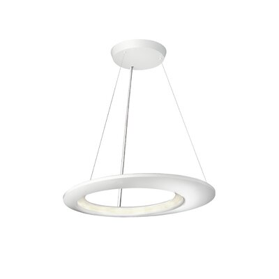 Ecliptic 16-Light Kitchen Island Pendant Finish: Matte White