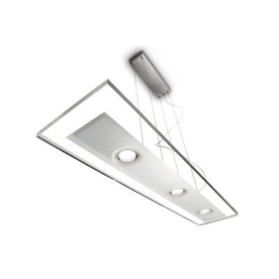 Vidro 3-Light Kitchen Island Pendant