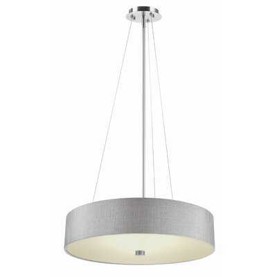 Chelsea Drum Pendant Shade Color: Gray