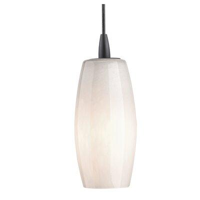 Wishes 4.25 Glass Oval Pendant Shade Finish: White