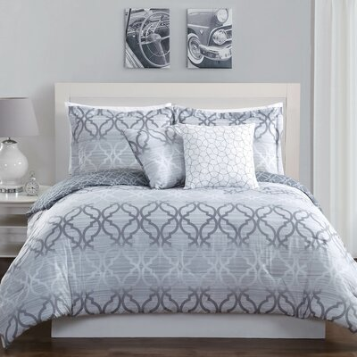 Chrissy 5 Piece Comforter Set Size: King