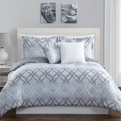Chrissy 5 Piece Comforter Set Size: Full/Queen