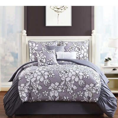 Province 7 Piece Comforter Set Size: King