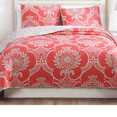 Blevins 3 Piece Reversible Quilt Set Size: King