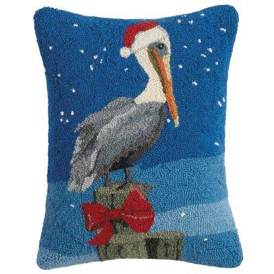Murley Holiday Animal Wool Lumbar Pillow