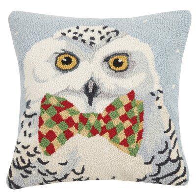 McCarville Holiday Animal Wool Throw Pillow