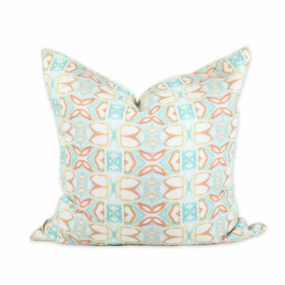Ocean Breeze Throw Pillow Size: 24 H x 24 W
