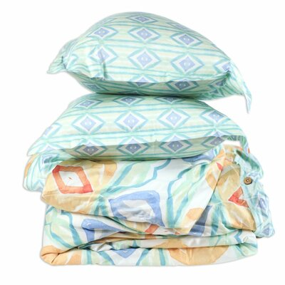 River Duvet Cover Size: King