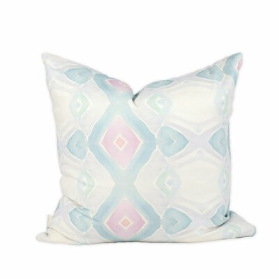 Beach Hut Throw Pillow Size: 20 H x 20 W