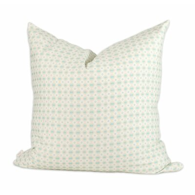 Mint Pebbles Throw Pillow