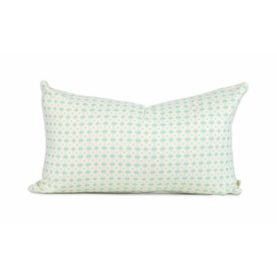 Mint Pebbles Lumbar Pillow