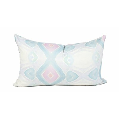 Beach Hut 100% Cotton Lumbar Pillow
