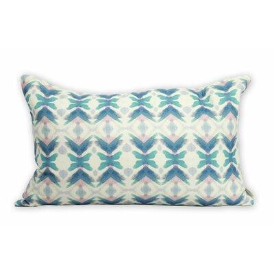 Bunglo Mendoza Merlot 100% Cotton Lumbar Pillow