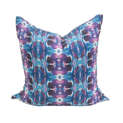 Flourite Throw Pillow