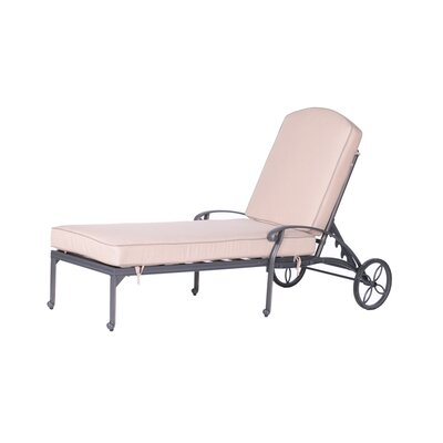 Bean Single Chaise Lounge with Cushion