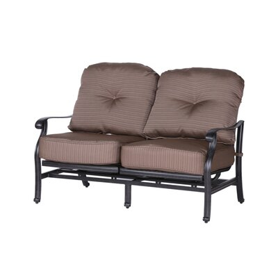 Germano High Back Motion Loveseat with Cushions