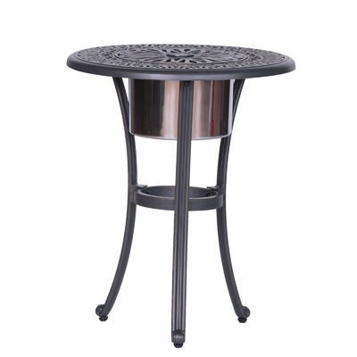 Bean Round Ice Bucket Bistro Table