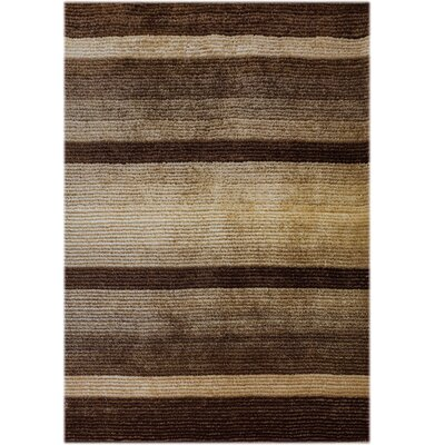 Jack Hand-Tufted Brown Area Rug