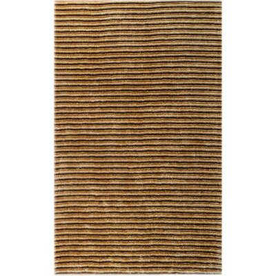 Thomas Machine-Woven Polypropylene Black/Yellow Outdoor Area Rug