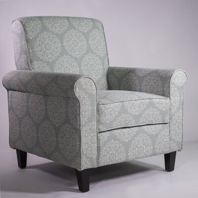 Odalis Arm Chair Upholstery: Teal