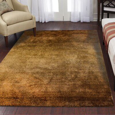Big Jack Machine-Woven Polyester Brown Area Rug