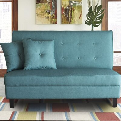 Margaux Loveseat Upholstery: Teal